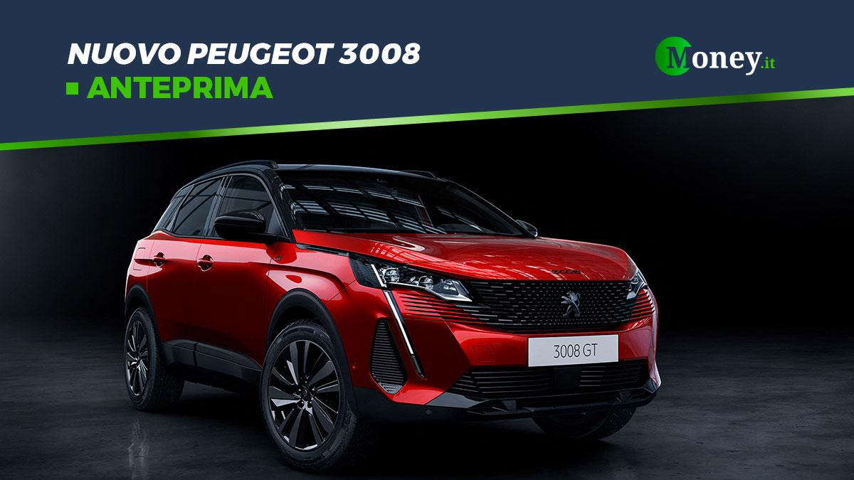Nuovo Peugeot 3008: foto, prezzi, motori e allestimenti