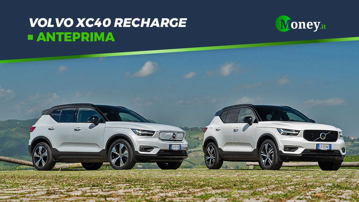 Volvo XC40 Recharge: il SUV Plug-In Hybrid