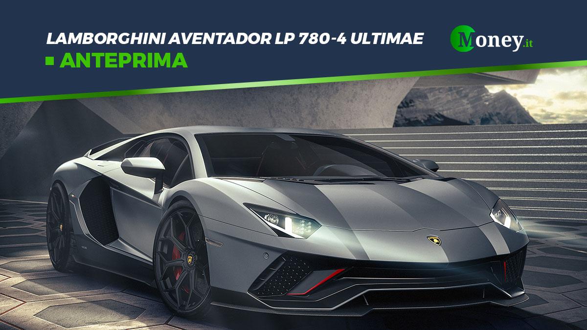 Lamborghini Aventador LP 780-4 Ultimae: foto e prestazioni