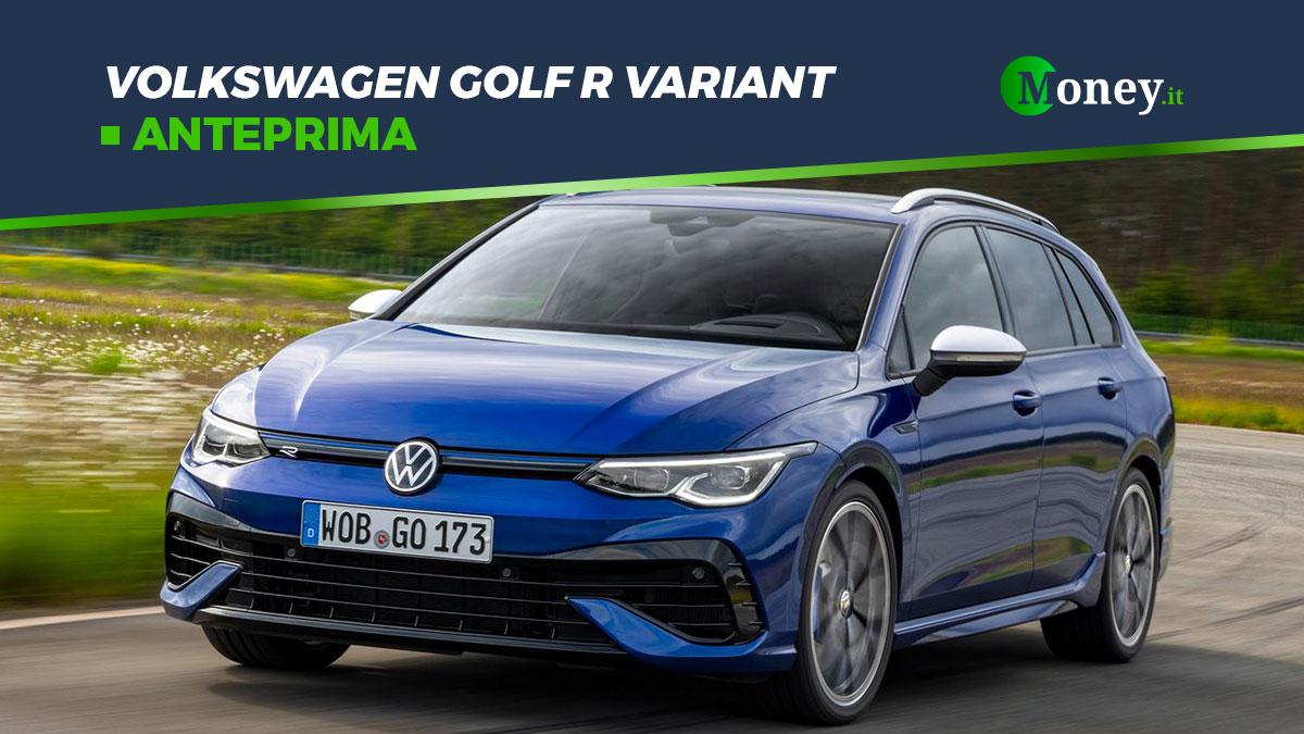 Volkswagen Golf R Variant: prezzi, foto e prestazioni
