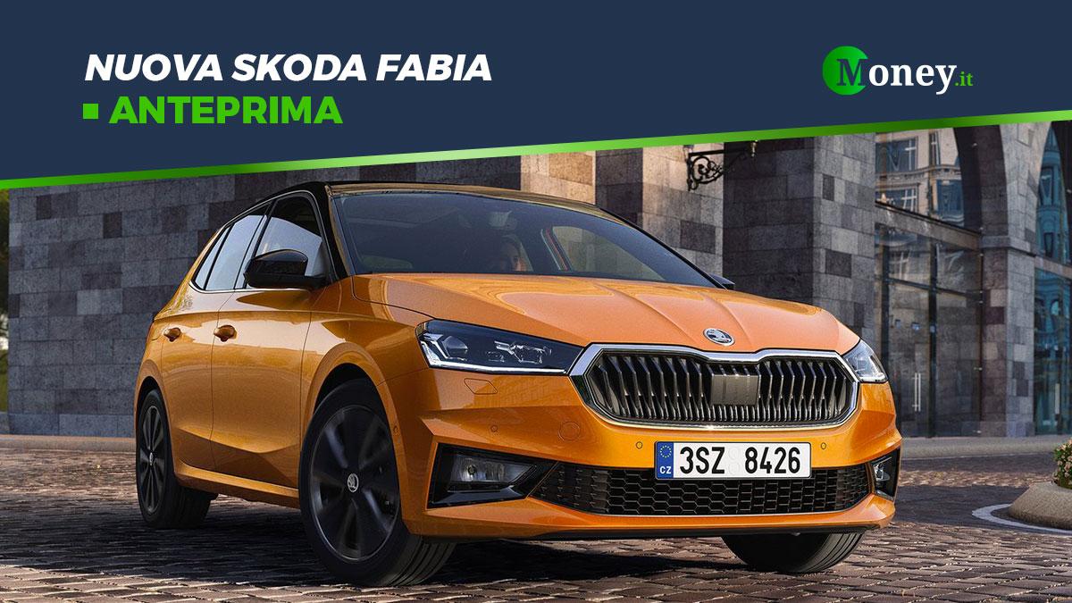 Nuova Skoda Fabia: prezzi, motori, dotazione