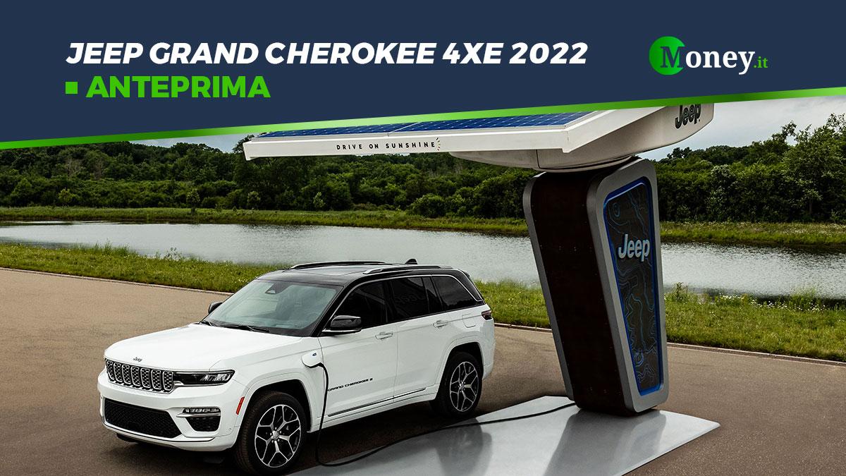 Jeep Grand Cherokee 4xe 2022: svelate le prime foto