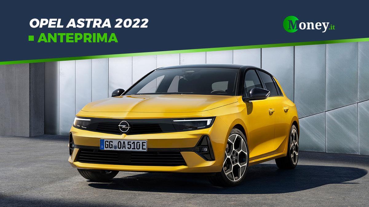 Opel Astra 2022: foto, motori e dotazione