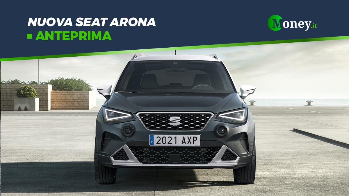 Nuova Seat Arona: prezzi, foto e motori