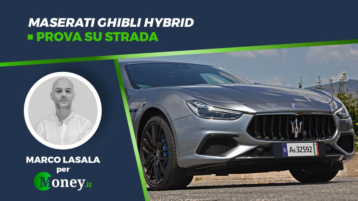 Maserati Ghibli Hybrid: prova su strada