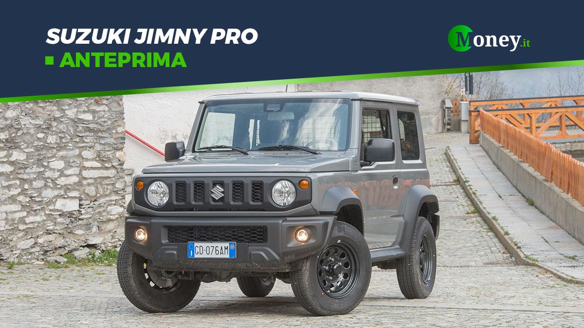 Suzuki Jimny Pro: prezzo, dotazione, motore, foto