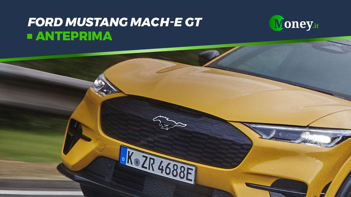 Ford Mustang Mach-E GT: prezzo, foto, prestazioni