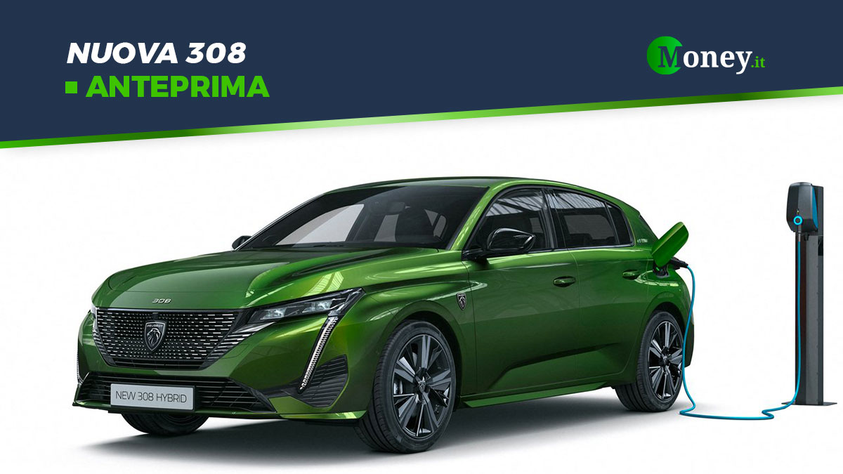 Nuova 308: nuove motorizzazioni ibride plug-in