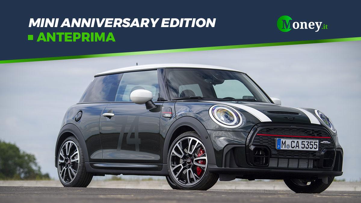Mini Anniversary Edition: prestazioni, dotazione e foto