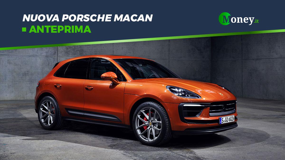 Nuova Porsche Macan: foto, prestazioni e prezzi