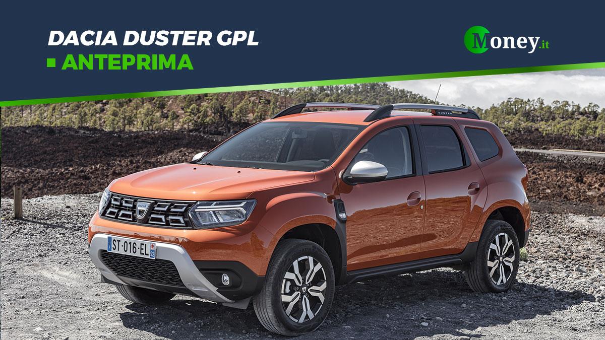 Dacia Duster GPL: motore, autonomia, prezzi e foto