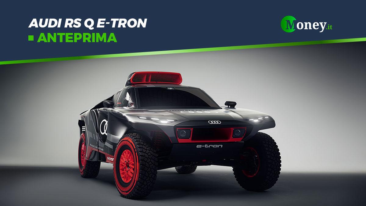 Audi RS Q e-tron: il prototipo elettrico pronto per la Dakar 2022