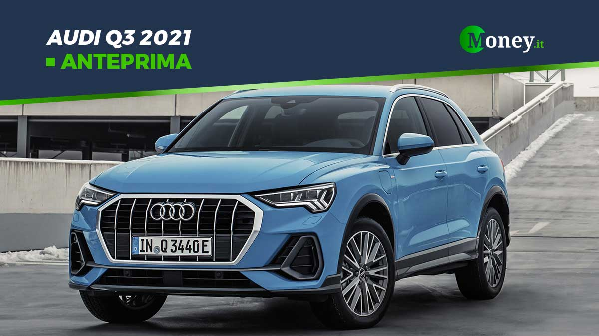 Audi Q3: prezzi, foto e motori del model year 2021