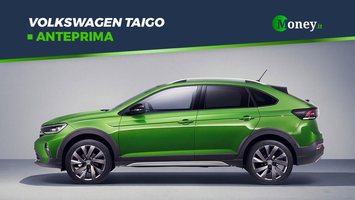Volkswagen Taigo: foto, prezzi e motori del SUV Coupé