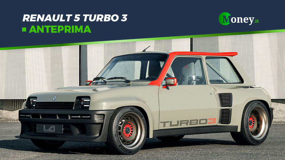 Renault 5 Turbo 3: restomod da 400 cavalli