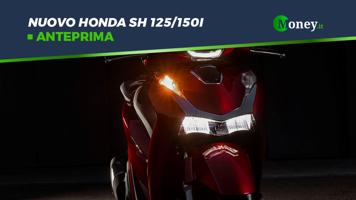 Nuovo Honda SH 125/150i: prezzi, foto, motore