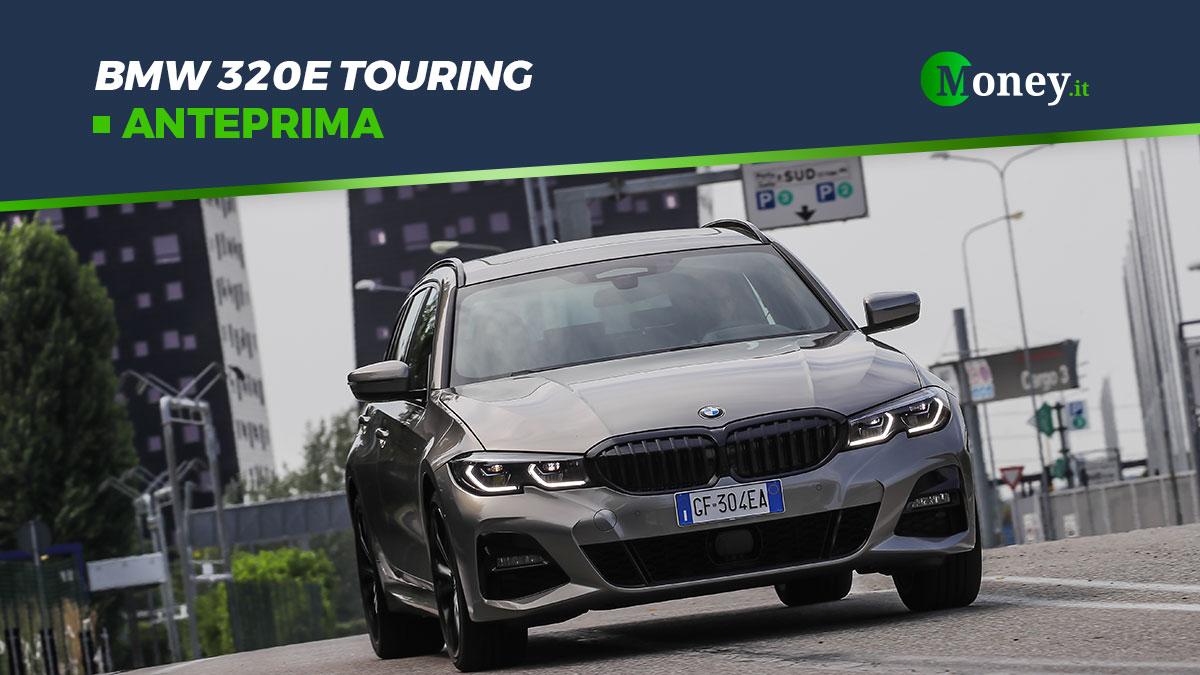 BMW 320e Touring: foto e prestazioni dell'ibrida plug-in