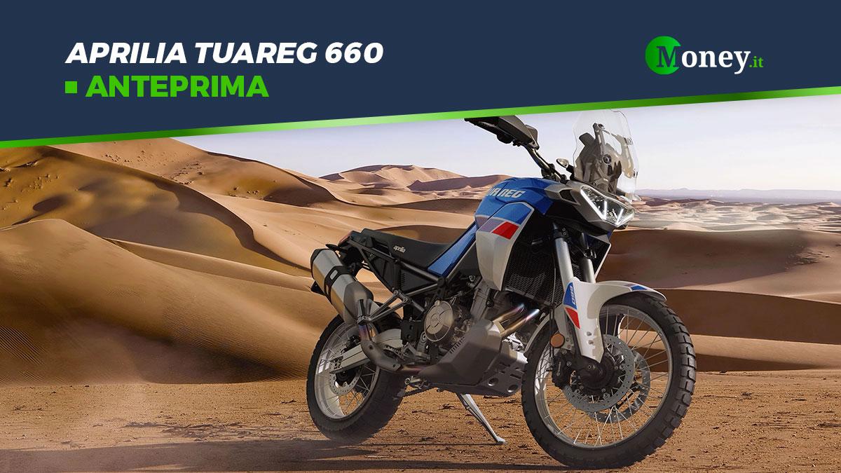Aprilia Tuareg 660: foto, motore e ciclistica