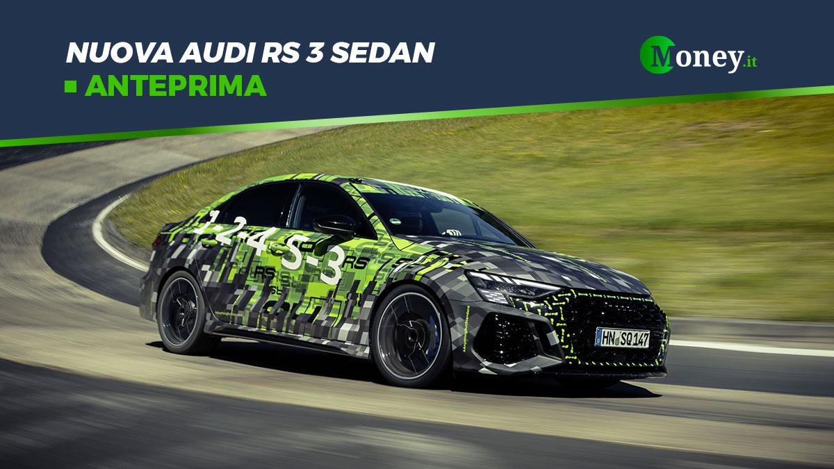 Nuova Audi RS 3 Sedan: record al Nurburgring