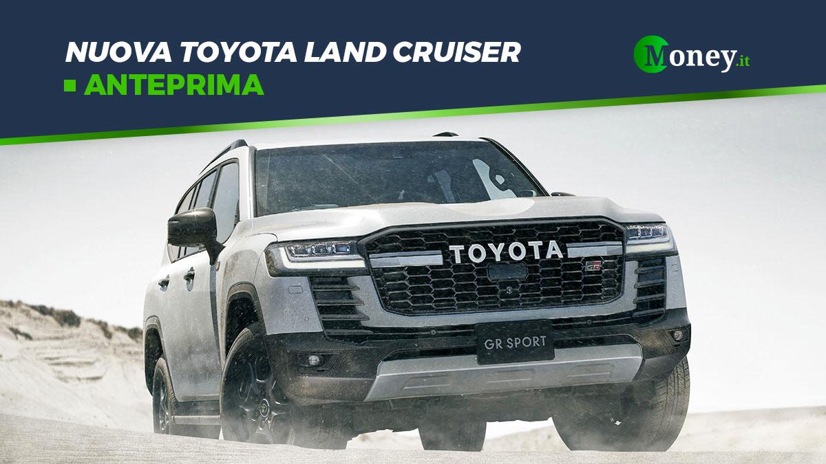 Nuova Toyota Land Cruiser: foto, motore e dotazione