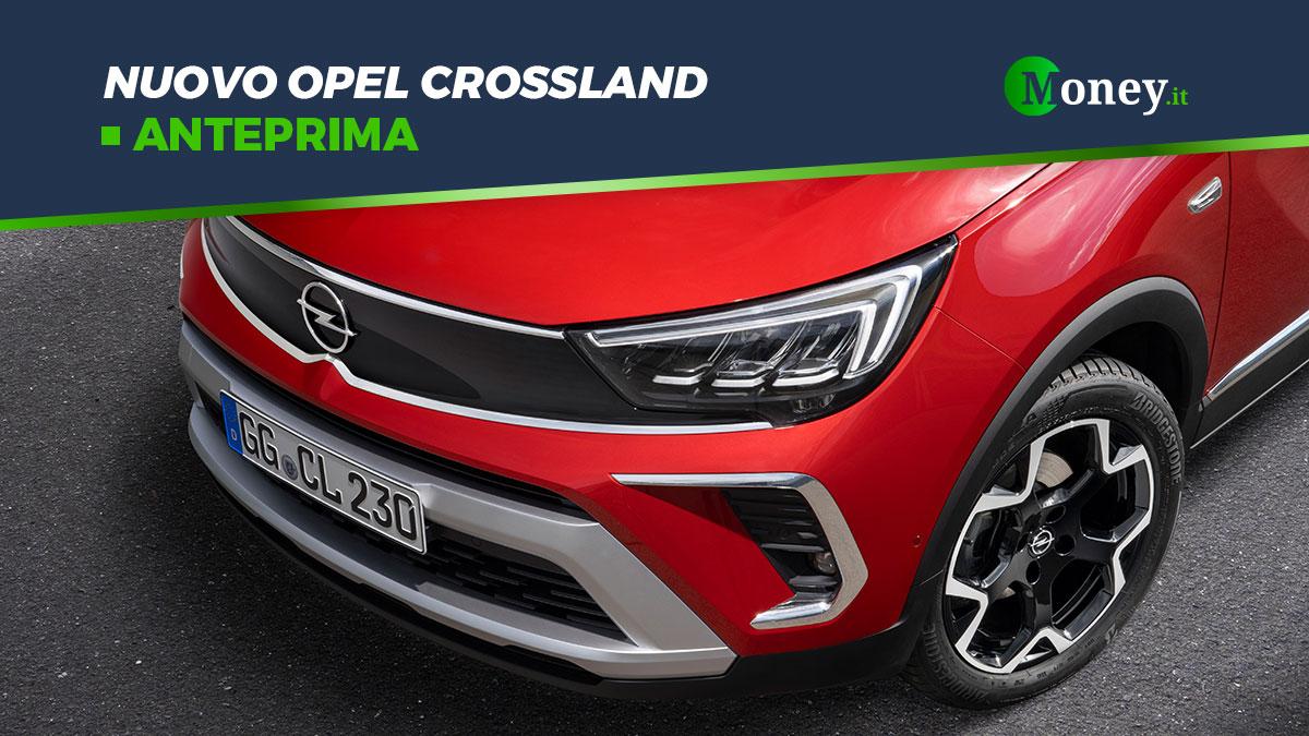 Opel Crossland: prezzi, foto e motori del SUV compatto