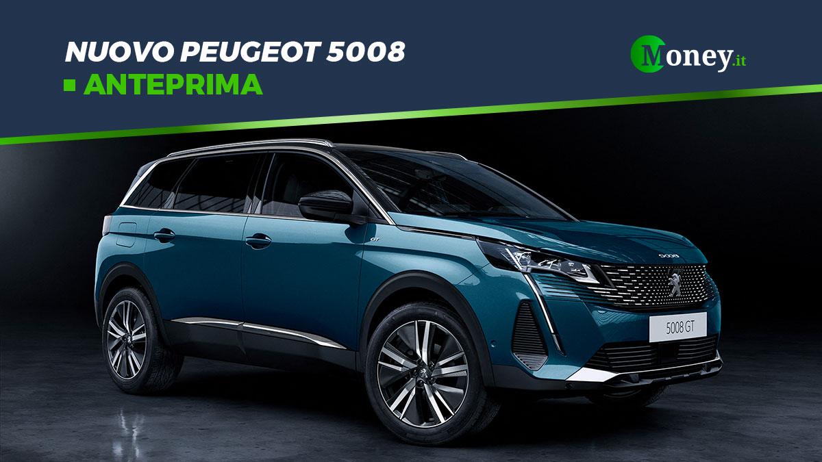 Nuovo Peugeot 5008: prezzi, foto e motori