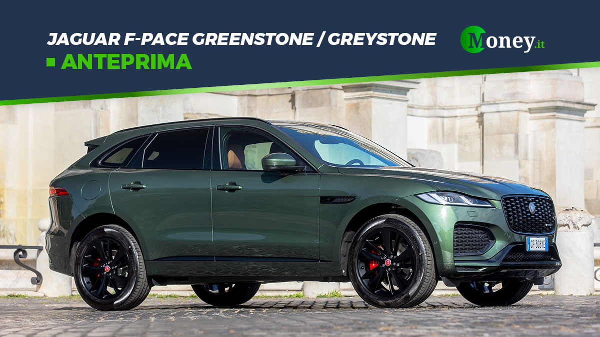 Jaguar F-Pace Greenstone e Greystone: SUV tailor made