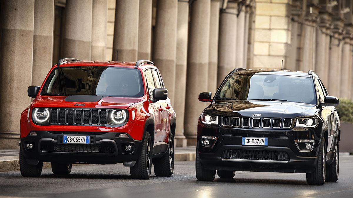 Jeep Renegade, Compass e Gladiator: arrivano gli incentivi