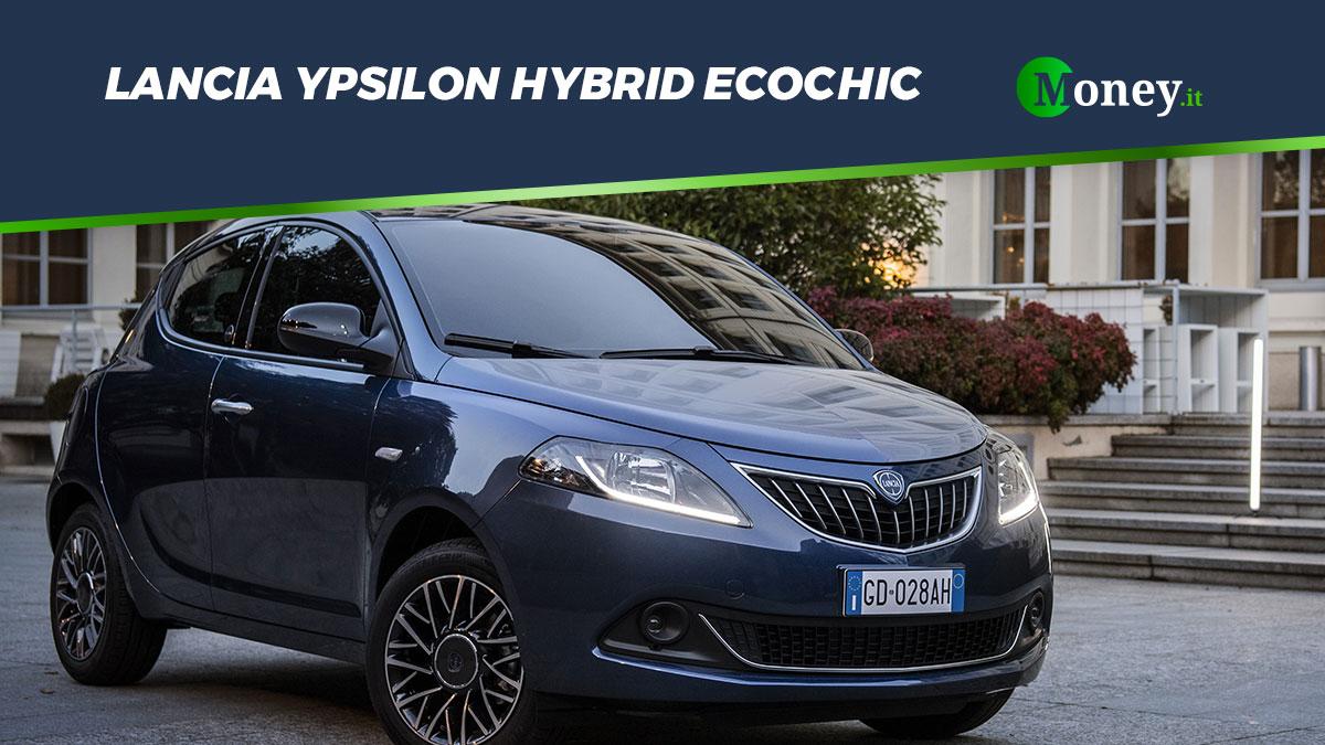 Lancia Ypsilon Hybrid EcoChic: sino a diecimila euro di vantaggi