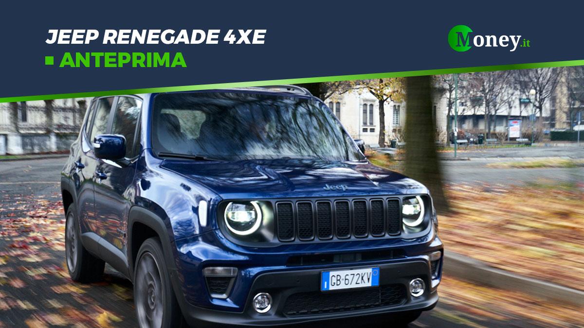 Jeep Renegade 4xe: foto, prezzi e motore del SUV ibrido plug-in