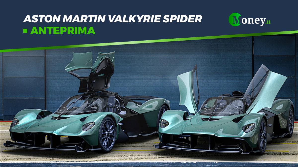 Aston Martin Valkyrie Spider: foto, motore e prestazioni