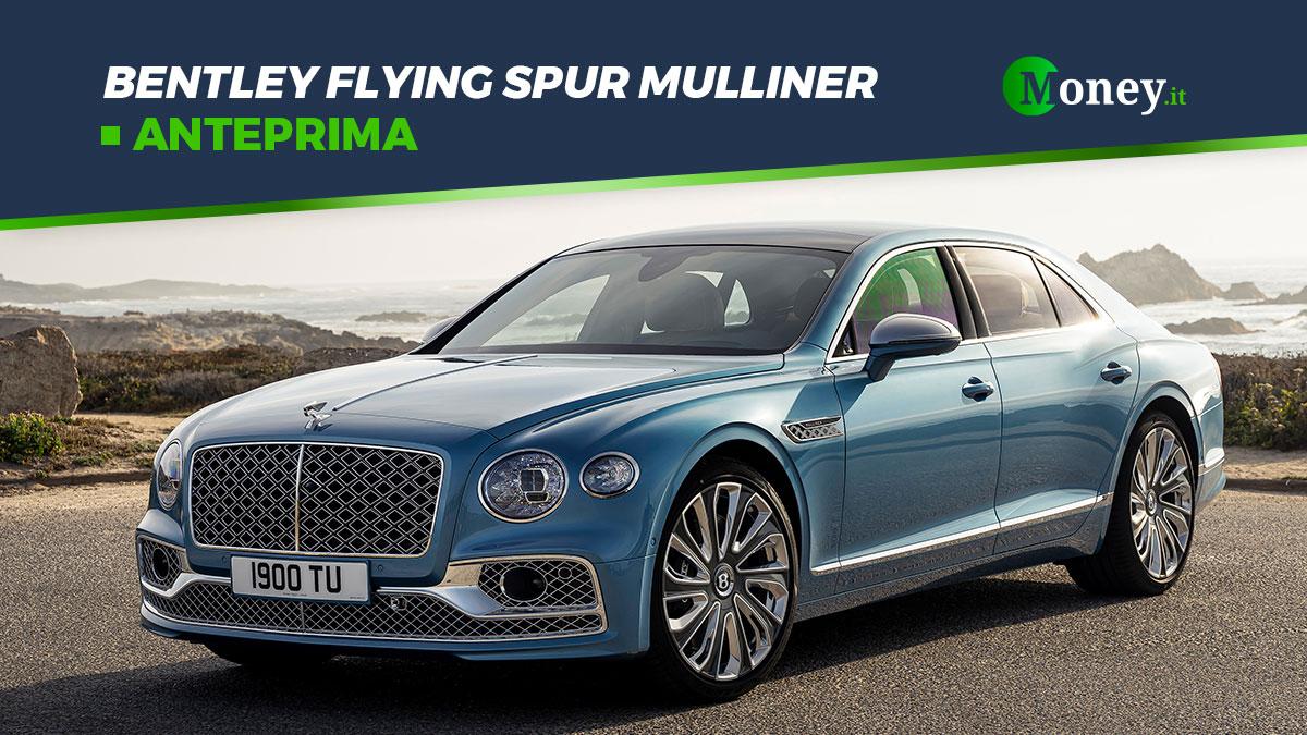 Bentley Flying Spur Mulliner: foto, prestazioni e dotazione