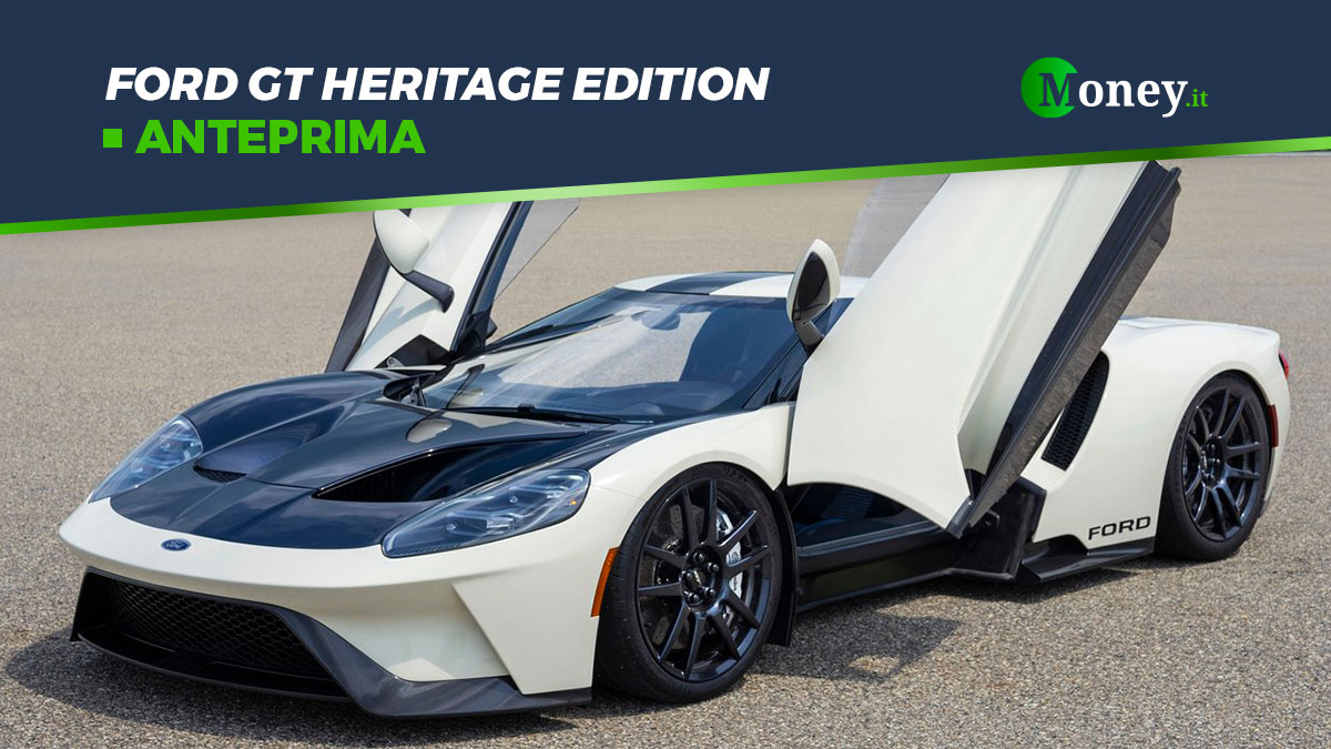 Ford GT '64 Prototype Heritage Edition: la supercar limited edition [Foto]