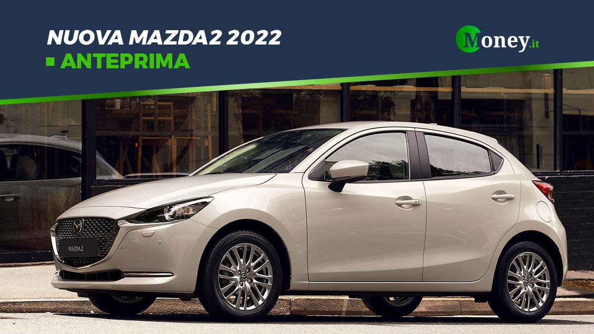 Nuova Mazda2 2022: motori, dotazione e foto