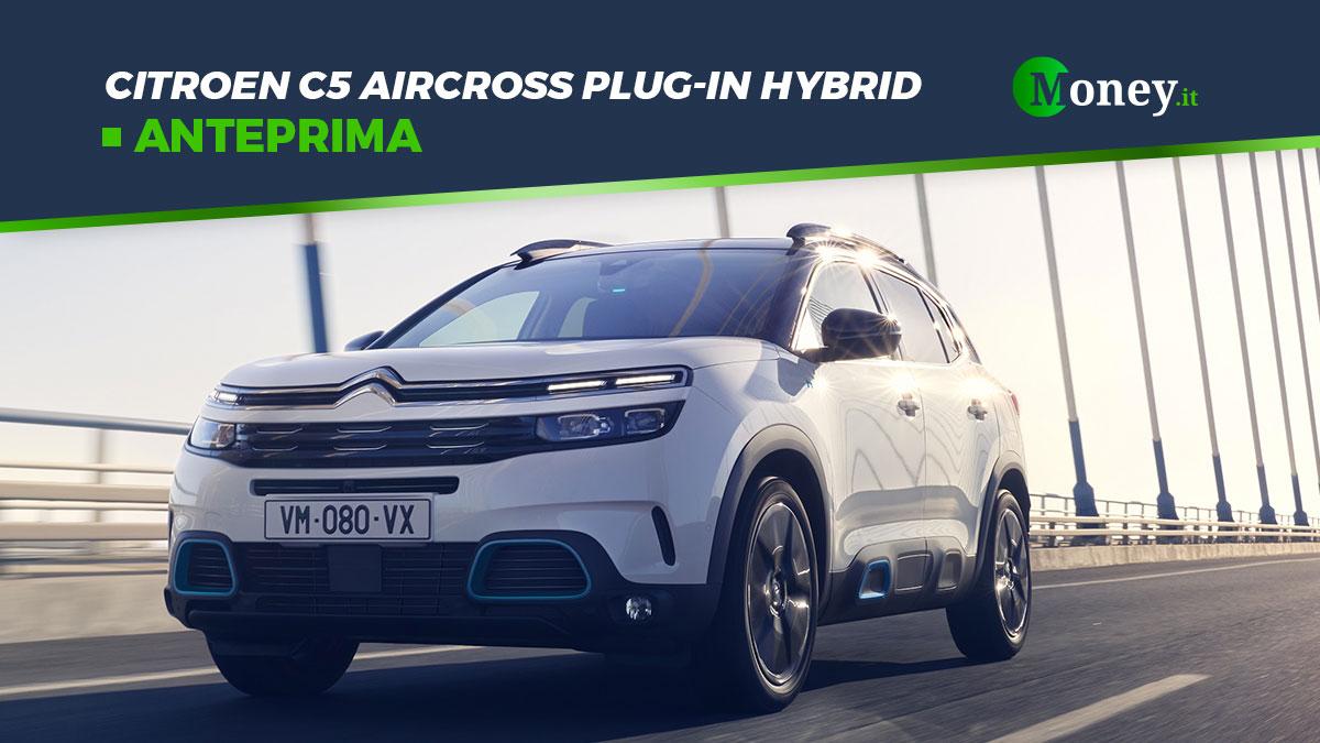 Citroen C5 Aircross Hybrid Plug-In: motore, prezzo e foto