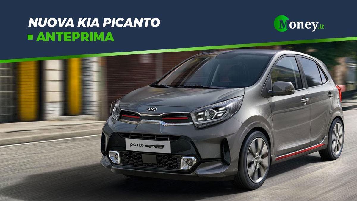 Nuova Kia Picanto: prezzi, foto, motore e allestimenti