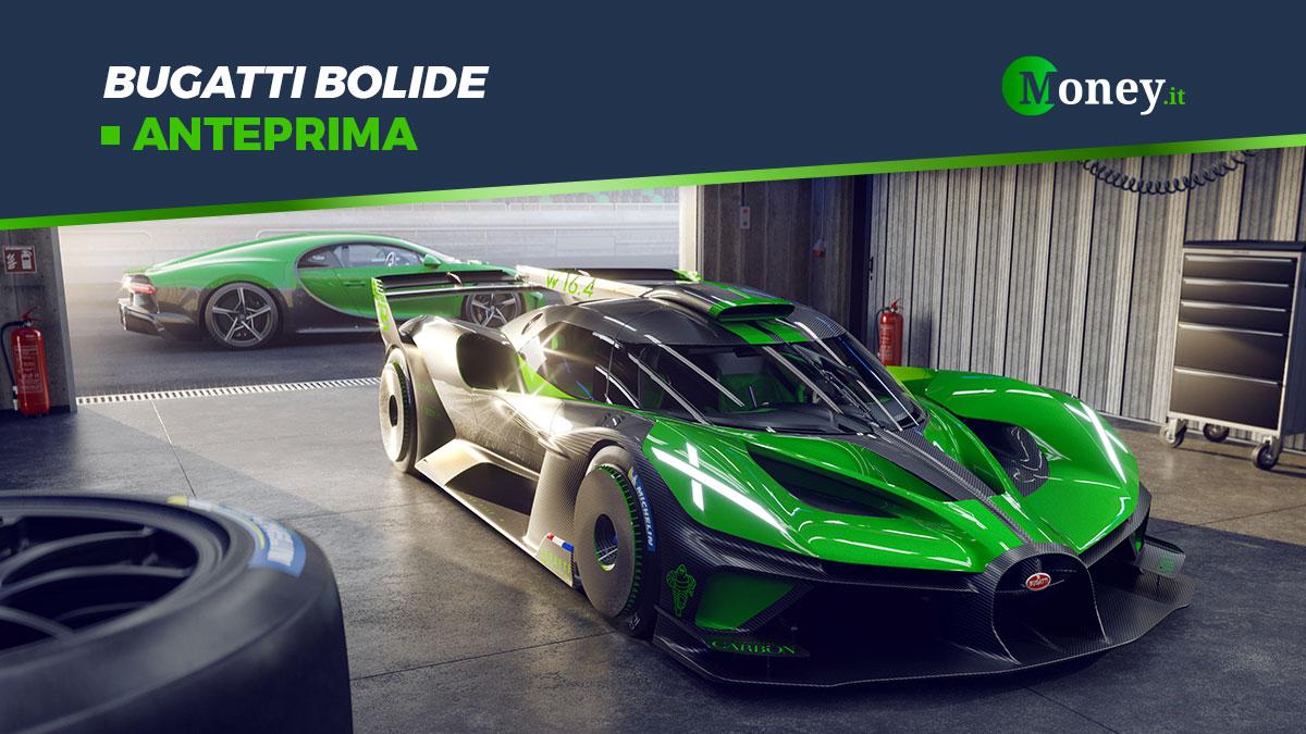 Bugatti Bolide: la hypercar da oltre 500 km/h