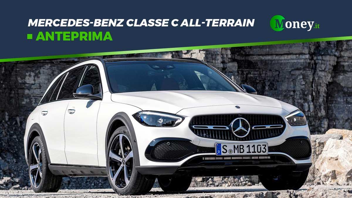 Mercedes-Benz Classe C All-Terrain 2022: motore, dotazione e foto