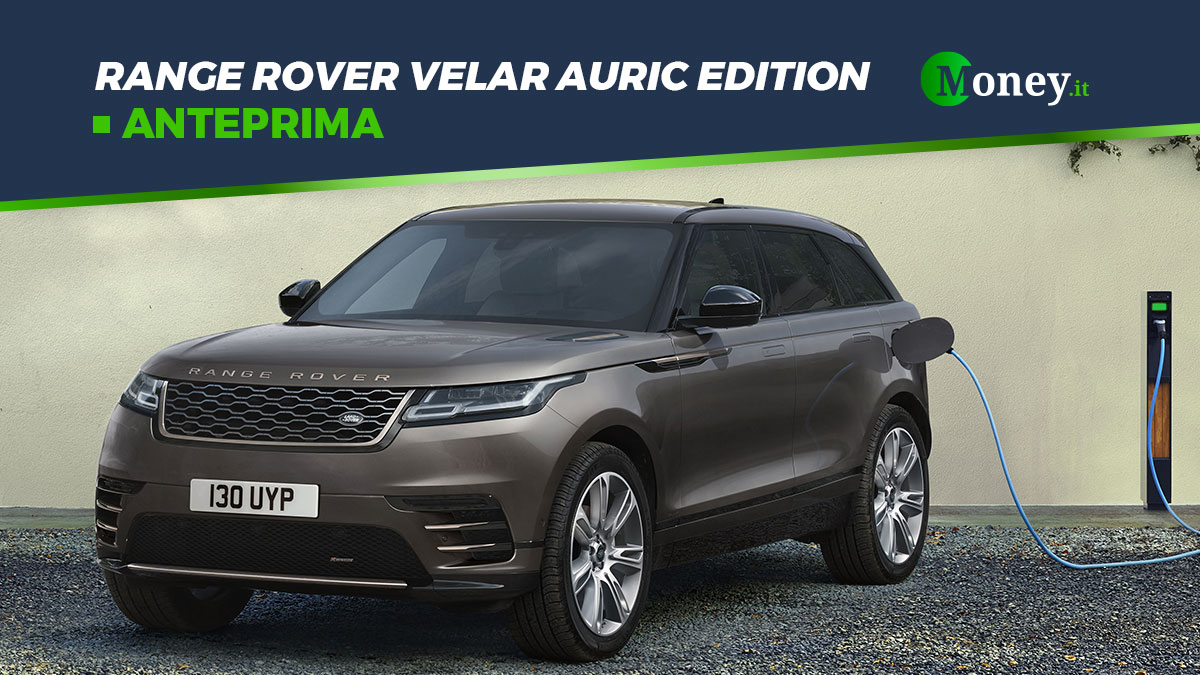 Range Rover Velar Auric Edition: motori, prezzi, dotazione e foto