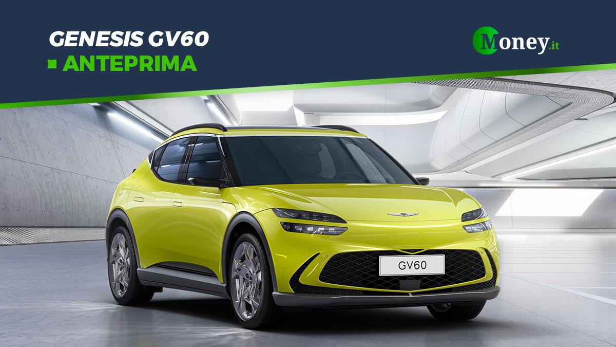 Genesis GV60: il crossover elettrico arriverà in Europa nel 2022