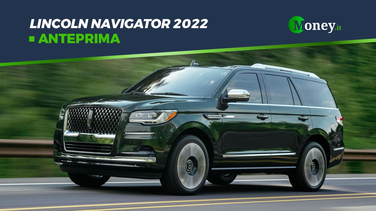 Lincoln Navigator 2022: SUV premium e tecnologico
