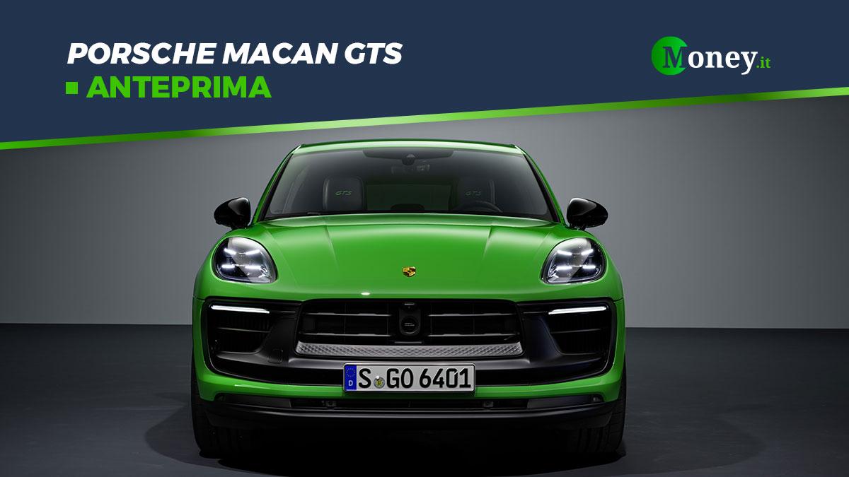 Porsche Macan GTS: foto, motore e prezzo del nuovo SUV sportivo