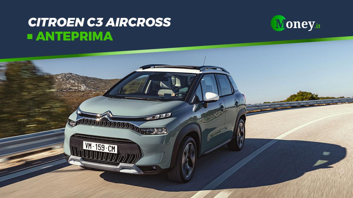 Citroen C3 Aircross: luci a LED per il nuovo SUV crossover
