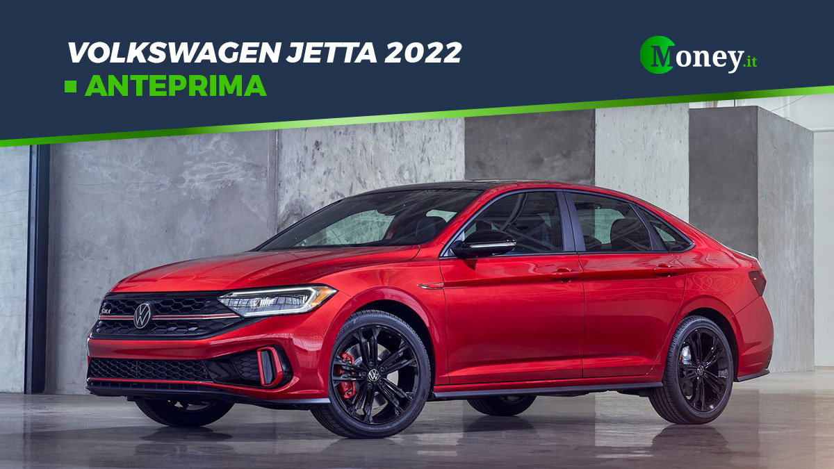 Volkswagen Jetta 2022: motori, allestimenti, foto