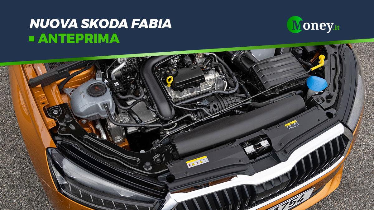 Nuova Skoda Fabia: maggiore autonomia con i motori EVO