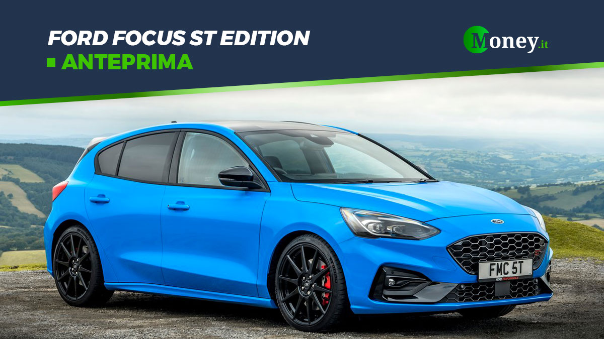 Ford Focus ST Edition 2022: motore, foto, prestazioni