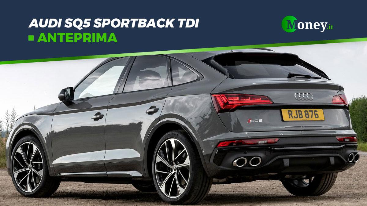 Audi SQ5 Sportback TDI 2021: il SUV Coupé performante [Foto]
