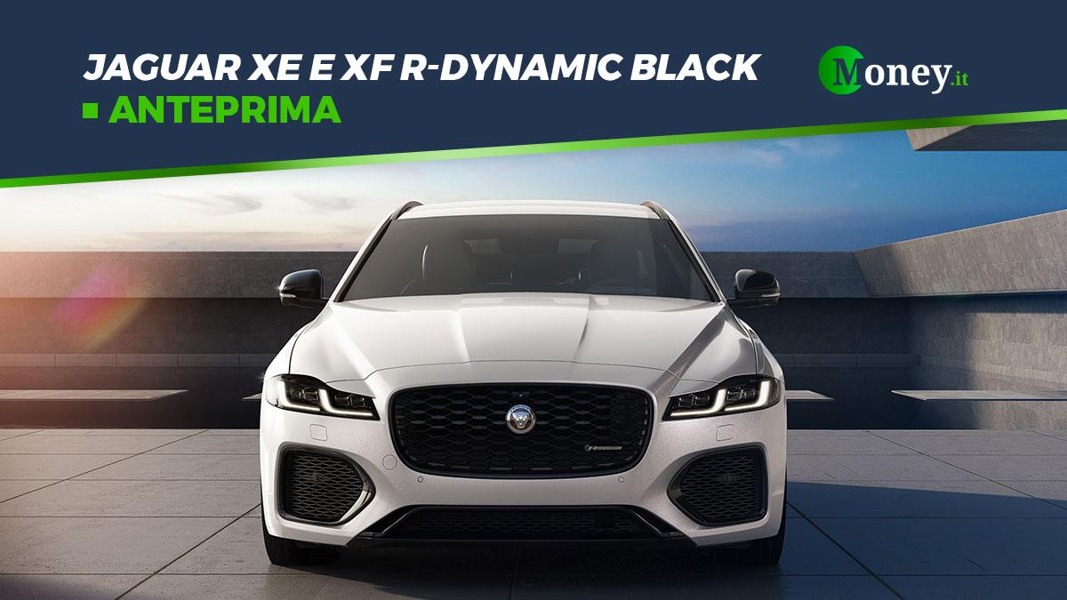 Jaguar XE e XF R-Dynamic Black: foto, motori, prezzi