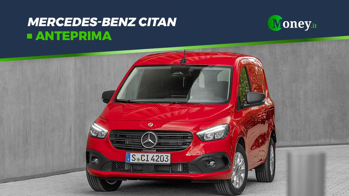 Mercedes-Benz Citan: lo small van sicuro, tecnologico e con motori euro 6d