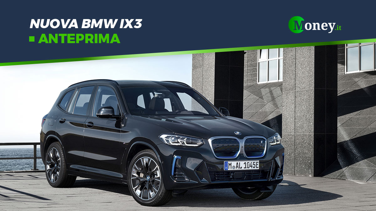 Nuova BMW IX3: motore, foto, prezzo, autonomia